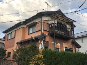 岡崎市青山様邸 耐震工事 足場を組み耐震工事開始します!